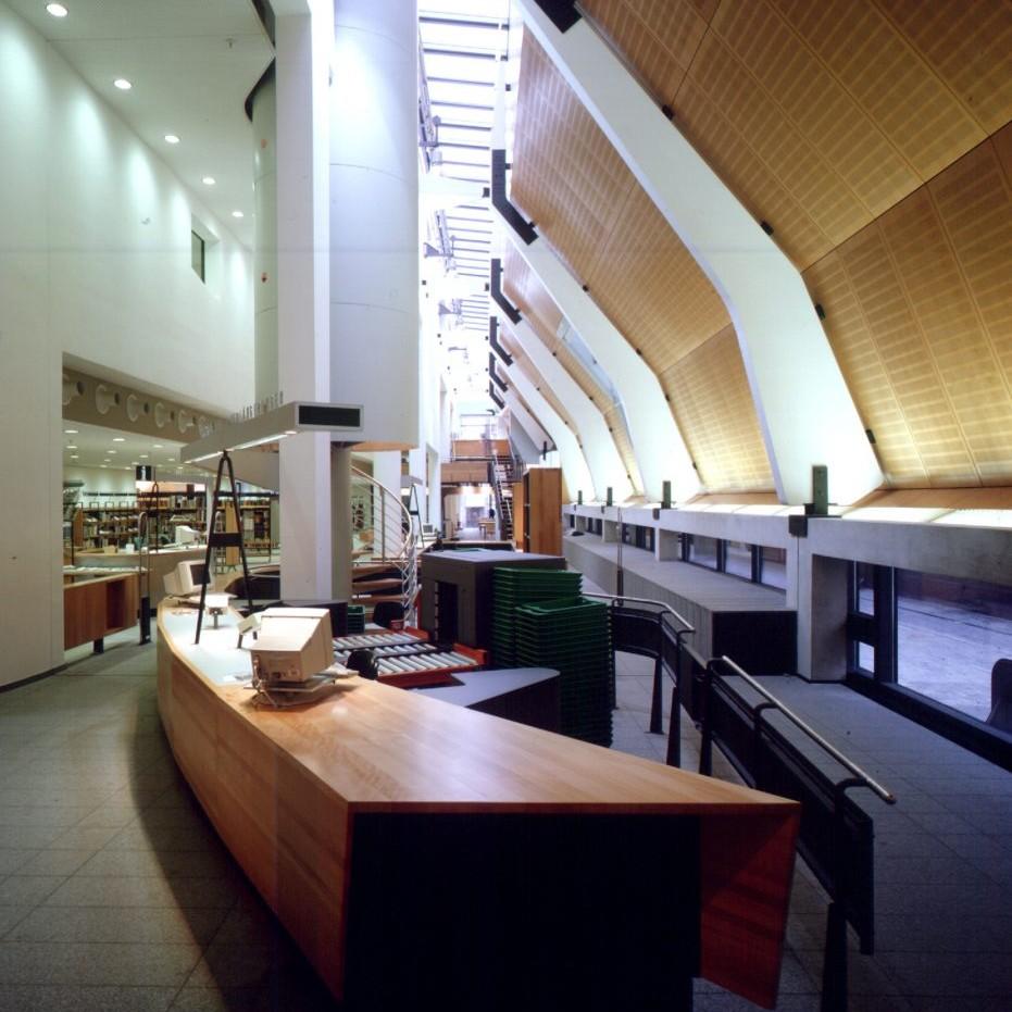 Stadtbücherei Münster - Foto: Christian Richters
