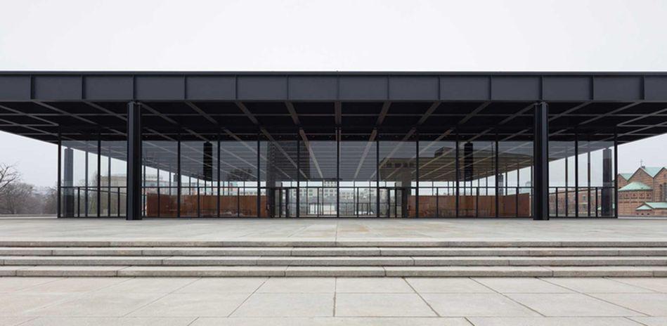 Neue Nationalgalerie Berlin - Foto: BBR/Thomas Bruns