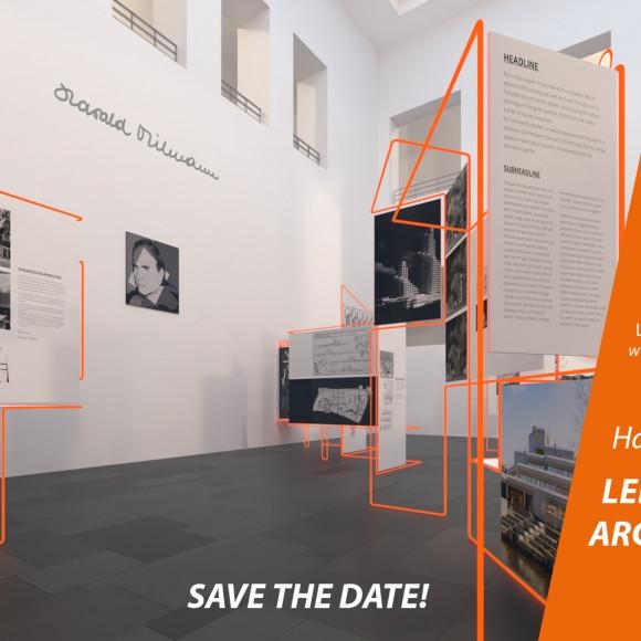 Harald Deilmann - Lebendige Architektur: Ausstellung im Baukunstarchiv NRW, Dortmund